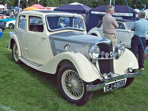 128 Riley Nine Merlin (1936)