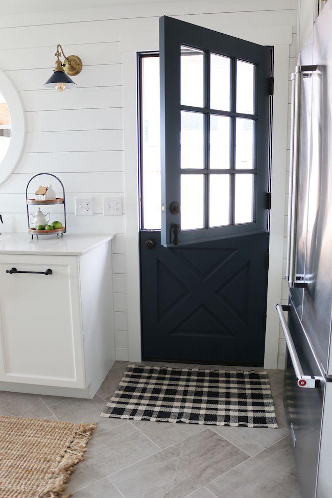 Dutch Door - Small Kitchen Remodel Reveal! - The Inspired Room