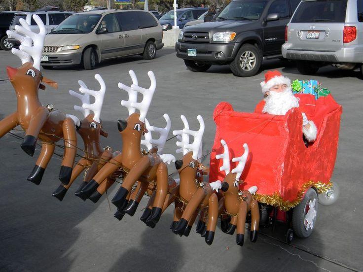 parents build halloween costumes around daughters wheelchair picture gallery - Walmart Halloween Commercial