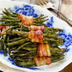 Green Bean Bundles wrapped in bacon make a beautiful presentation for a holiday meal and you won't believe how wonderful they taste. The green beans are first blanched in boiling water to get them just slightly tender. Then they're marinated in a mixture of butter, brown sugar, garlic, Worcestershire sauce, and salt and pepper. Marinating …