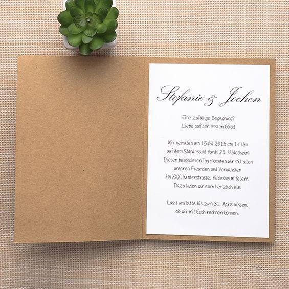Günstige Einladungskarten Hochzeit Online  Optimalkarten Kraftpapier Spitze  Hochzeitseinladungskarte Mit Jute Band   Papiersorte: Kraftpapier Farbe Der  ...