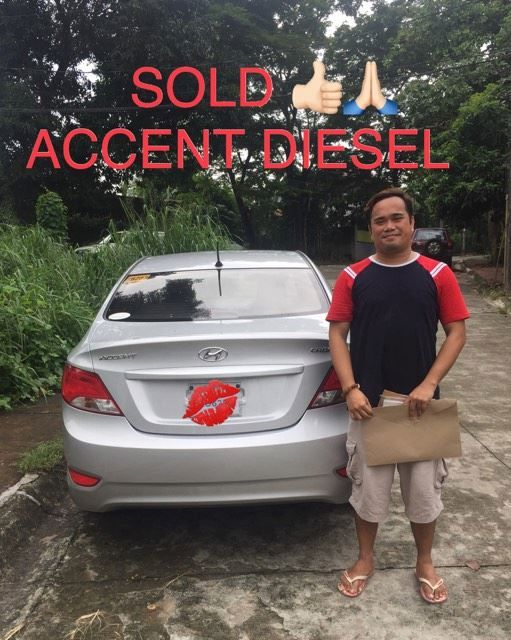 SOLD HYUNDAI ACCENT DIESEL Thank you Mr  Andres  Enjoy your new ride God bless you -FJ  and Team #bigsale #discount #deals #saledepot