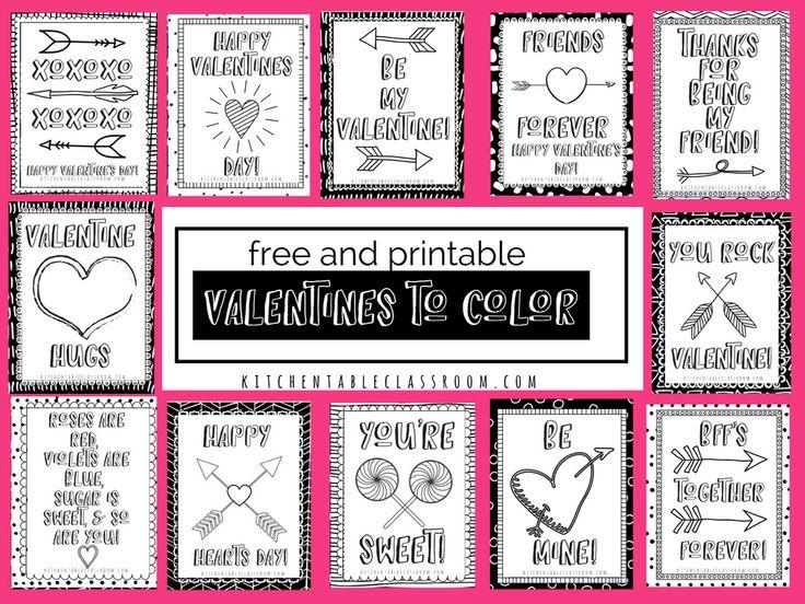 Best 25 Printable valentine cards ideas on Pinterest  Kids
