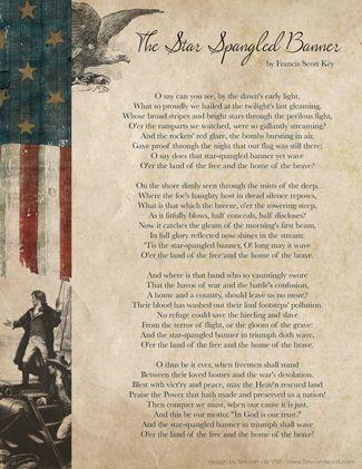 The Star Spangled Banner Lyrics