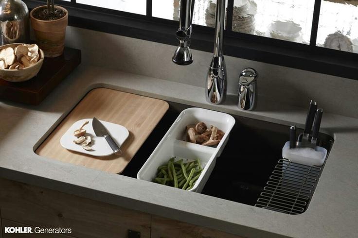 Amazing Kitchen Sink With Cutting Board Kitchen Organization Amazing Design