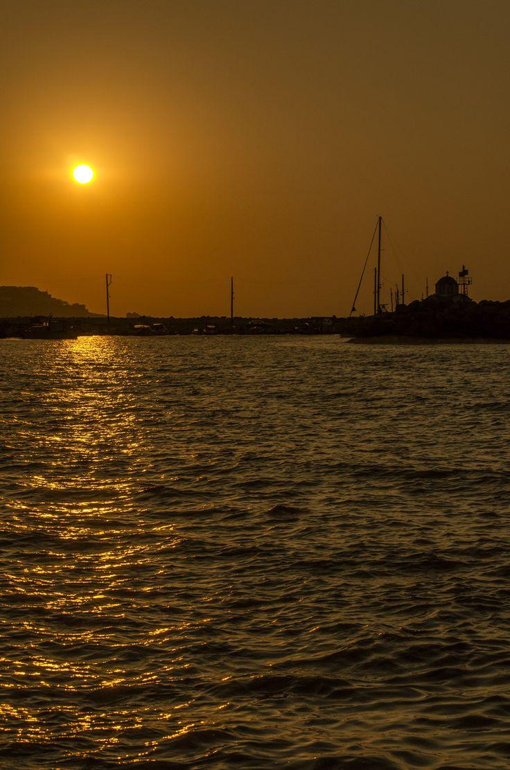 Sunset in Ikaria, Greece