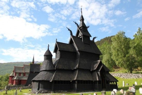 The church at #Borgund. Flam, #Norway. #NorthernEurope