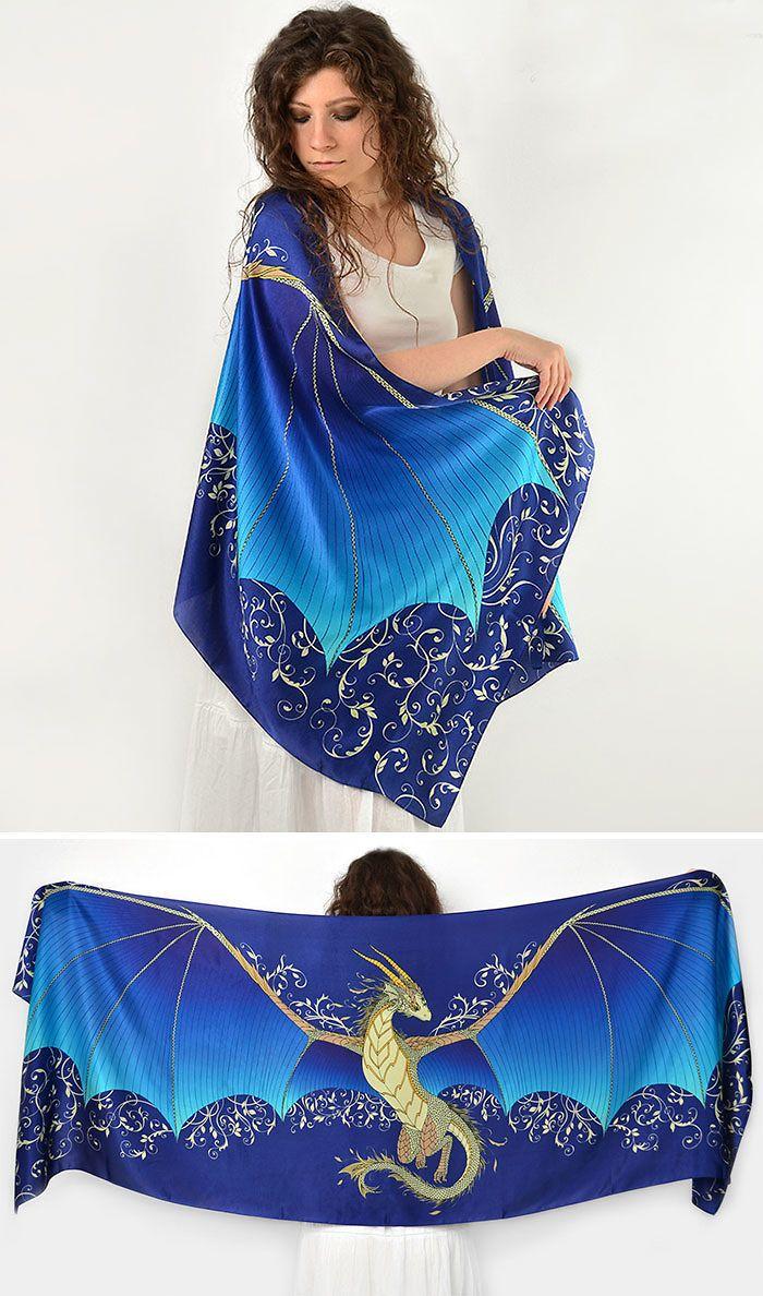 Dragon Silk Scarf                                                                                                                                                     More