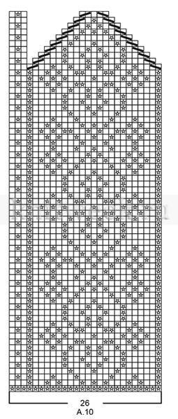 Варежки Розендал - Схема 3
