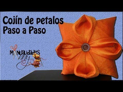 CLASE IV - COJIN DE PETALOS PASO A PASO | Manualidades Anny - YouTube