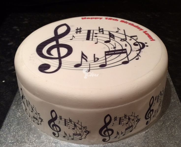 Cake Design Musical Notes : 213 best images about Music party on Pinterest Music ...