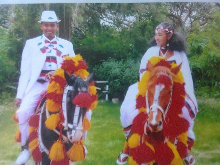 Oromo wedding; Oromia, Ethiopia (Africa).