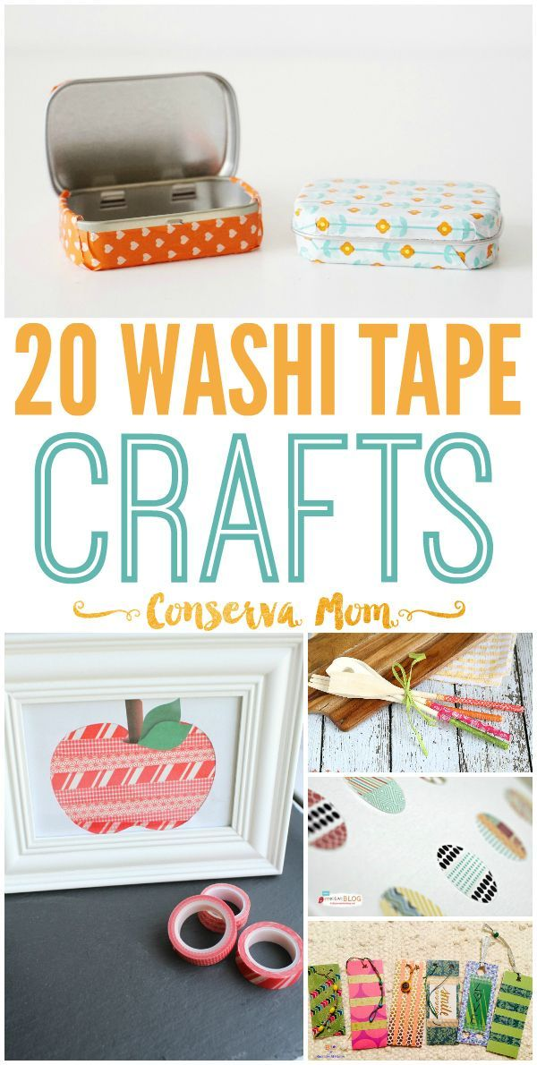 A Fun round up of 20 Washi Tape Crafts that will take any item from bland to glam! Enjoy and get crafting with this fun round up.