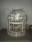 Shabby Vintage Chic Cream Bird Cage Decorative Wedding Table Decorations | eBay