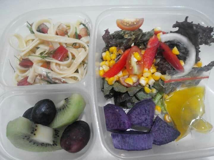 Healty lunch for dearest hubby