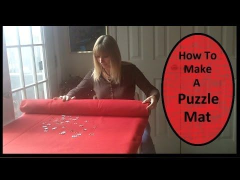 I will show you how I made my puzzle mat. I love to do puzzles but sometimes they can take up so much room. My puzzle mat will allow me to move my puzzle whe...
