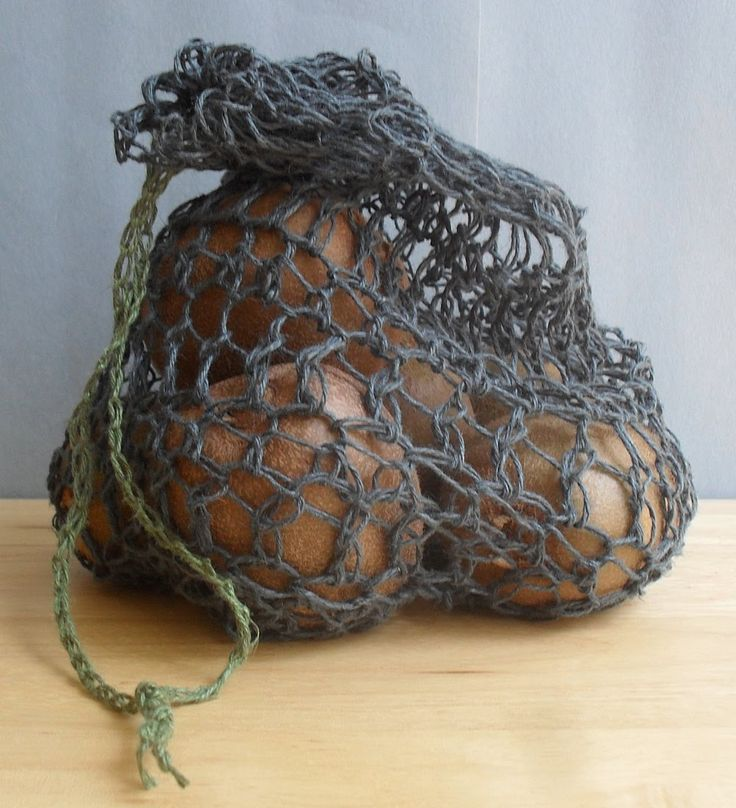 The Art of Zen.......Crochet: Free Patterns for Hemp Produce Sacs