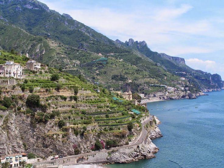 Όμορφος κόσμος, μαγικός: Η γραφική Ακτή Αμάλφι στην Ιταλία
