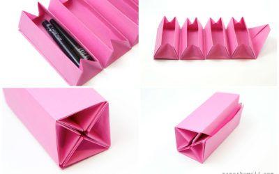 Оригами гармошка Самоучитель коробки DIY коробки закатать