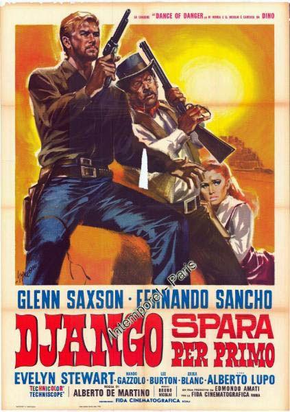 """He Who Shoots First (1966) """"Django Spara per Primo"""" (original title)"""