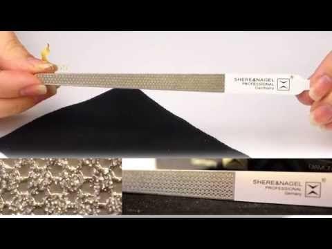 Пилка для кутикулы Shere&Nagel, Умная пилочка для кутикулы Shere&Nagel - YouTube