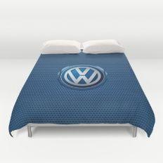 Volkswagon logo Duvet Cover