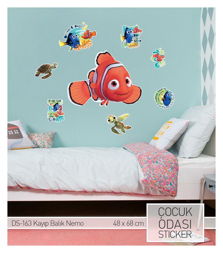 Kayıp Balık Nemo Duvar Stickeri (Disney Lisanslı) Ürüne ulaşabileceğiniz adres : http://www.artikeldeko.com.tr/kayip-balik-nemo-48x68-cm-duvar-sticker-22286  #dekor #dekorasyon #dekoratif #artikeldeko #sticker #duvarsticker #çocukodası #evdekorasyonu #dekorasyonfikirleri #kayıpbalıknemo #nemo #disney