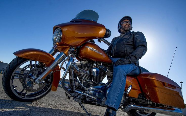 Kansas City police chief works the streets — on his Harley
