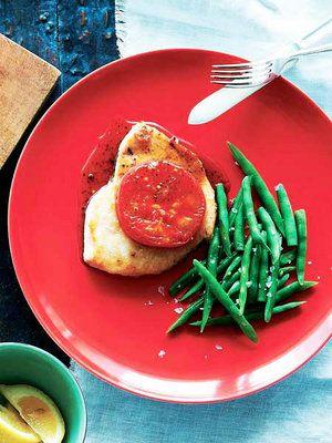 【ELLE a table】かじきまぐろのソテー、焼きトマト添えレシピ|エル・オンライン