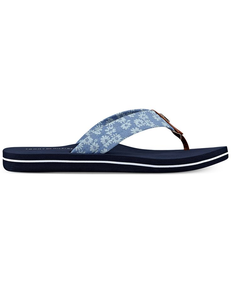 Tommy Hilfiger Clean Flip-Flop Sandals - Sandals - Shoes - Macy's