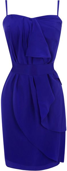 Coast Skye Dress in Blue (cobalt blue) - Bridesmaid idea