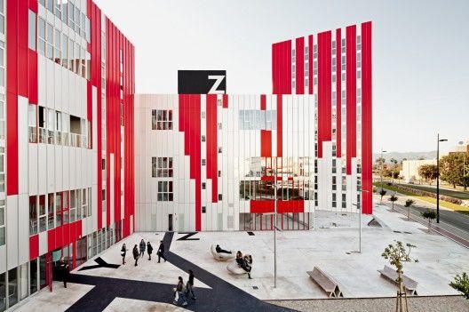 University Housing, Gandia / Guallart Architects (9)