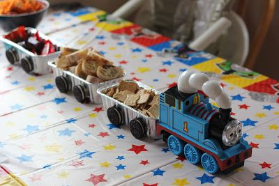 Number 1 Viking Fan: A Thomas the Train Birthday Party