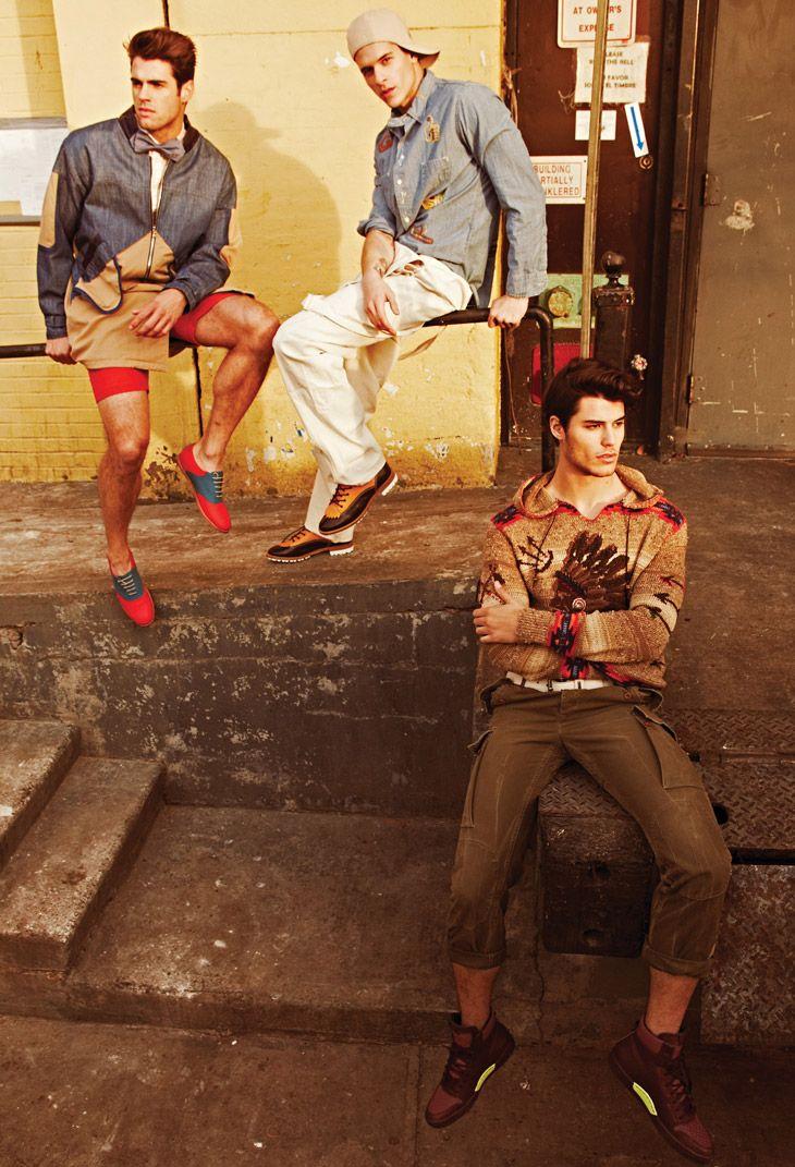 Chad White, Diego Fragoso & Emilio Flores for Flaunt