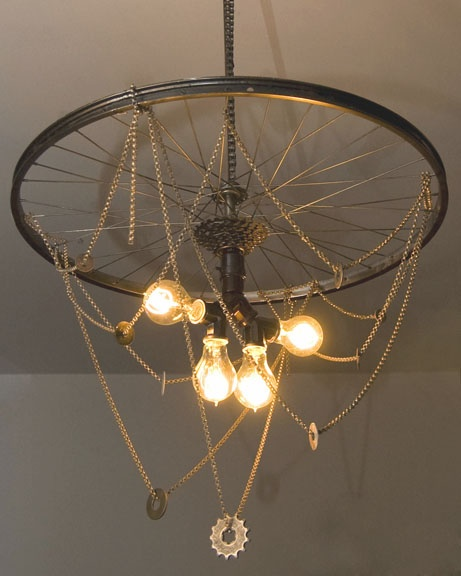 72 best Recycled bike parts images on Pinterest   Bicycle parts ...