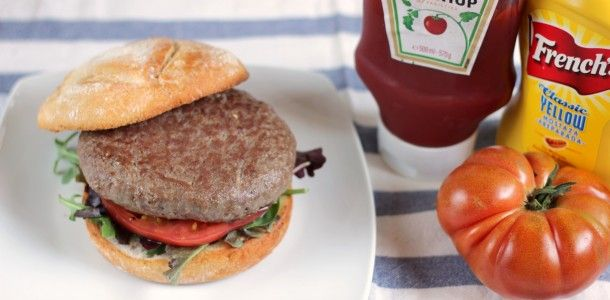 Hamburguesa de kobe. Carne online villamaria