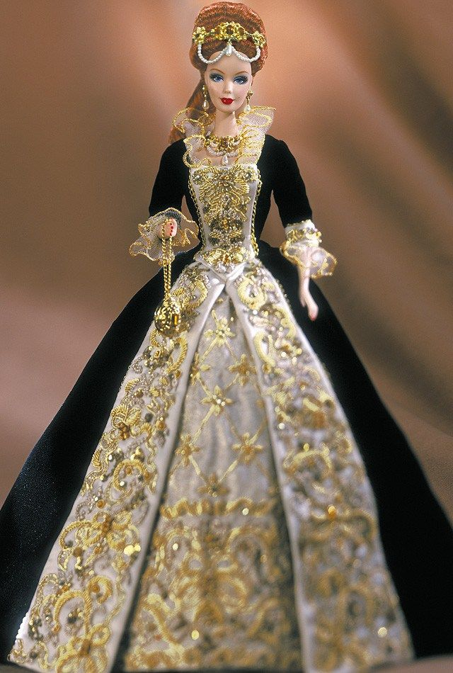porcelain barbie doll | Fabergé Porcelain Barbie Collection | Una vitrina llena de tesoros