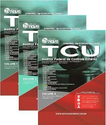 SEJA UM AUDITOR DO  TCU - SALÁRIO R$14.078,66   A Apostila para o concurso TCU 2015 foi atualizada com base no edital publicado recentemente o que torna o seu conteúdo atual e relevante.