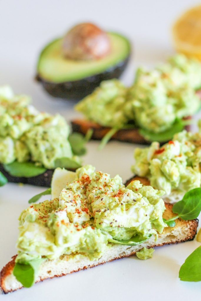 Avocado Egg Salad Mayo Free An Easy 4 Ingredient Lunch