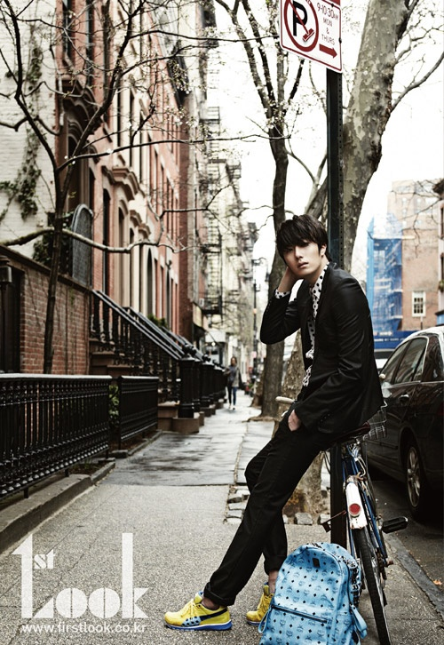 Jeong Il woo. -oh, those sneakers AND the backpack-