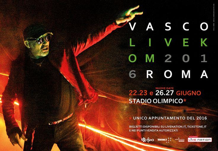 Vasco Live Kom 2016: le date del tour da Milano a Roma - Non è un mistero che Vasco Rossi sia uno dei rocker più amati in Italia, tanto da aver battuto ogni record: per il tour 2016 ha venduto 10.000 biglietti in 100 secondi. - Read full story here: http://www.fashiontimes.it/2015/12/vasco-live-kom-2016-date-tour-milano-roma/