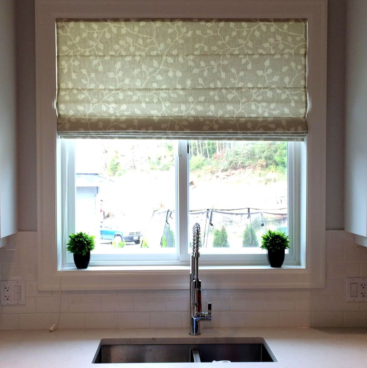 127 best roman shade inspiration images on pinterest for Linen shades window treatments