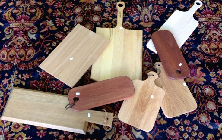 Locally hand crafted bread and cheese boards!