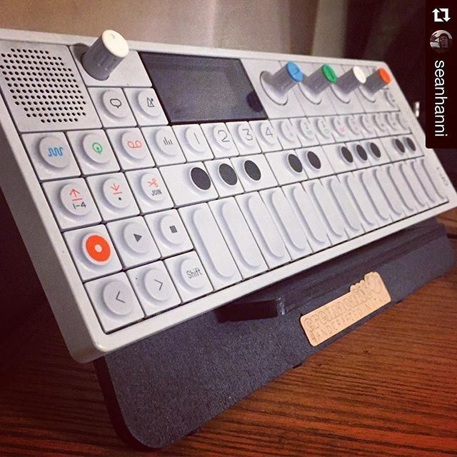 #Repost @seanhanni ・・・ OP-Bunny makes the OP-1 look even better! Thanks @cremacaffeshop for being so awesome!! #opbunny #op1 #Operator1 #OperatorOne #teenageengineering #electronic #music #cremacaffedesign #design #digitalnomad
