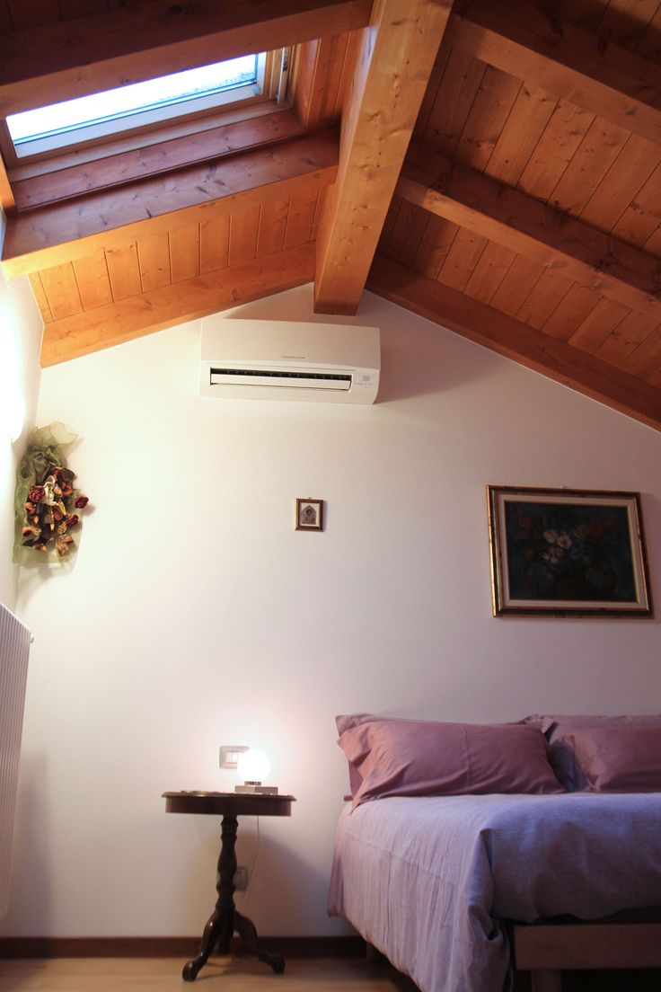Una delle bellissime camere del bed and breakfast