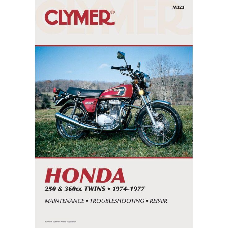 clymer honda 250cc 360cc twins  1974 1977  honda 250