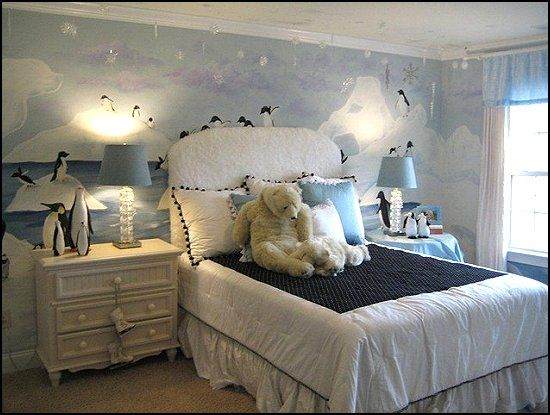 Here Is Cute Penguin Bedroom Theme Design And Decor Ideas For Kids Photo Collections At Gallery More Picture