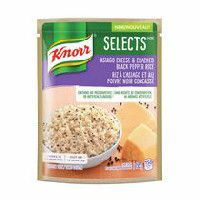 Knorr Selects Asiago Cheese & Cracked Black Pepper Rice  #NewKnorrSelects
