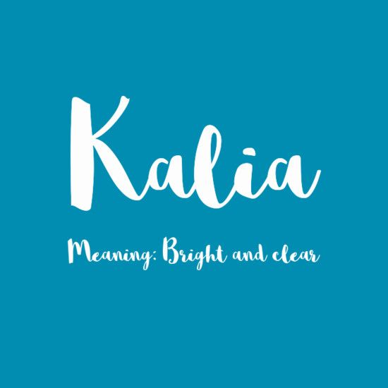 Kalia - Simply Adorable Hawaiian Baby Names for Girls - Photos