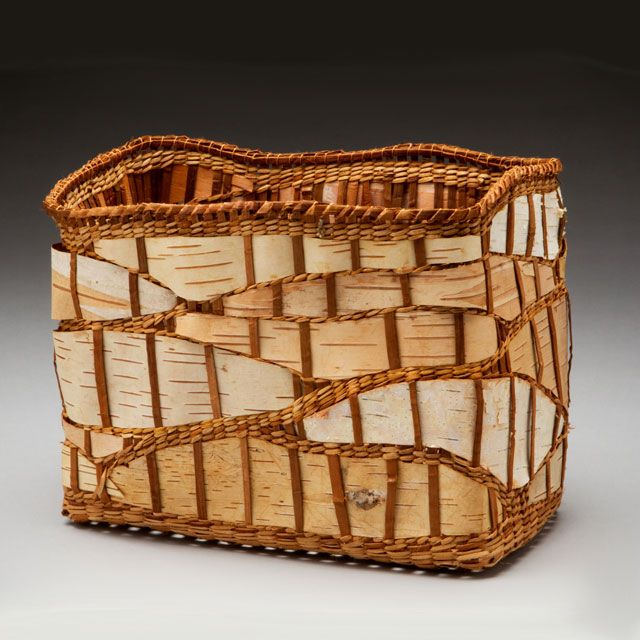 How To Weave A Cedar Basket : Best images about cedar basket weaving on